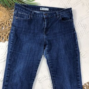 Levi Blue Jeans Mid-Rise Skinny Fit with Stretch